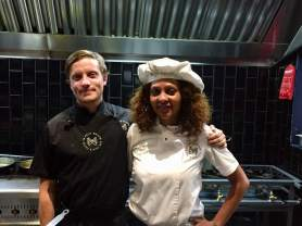 chefs Tim Stewart and Tyeya Ngxola